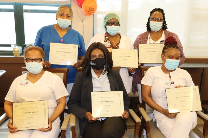 Employees holding certificates